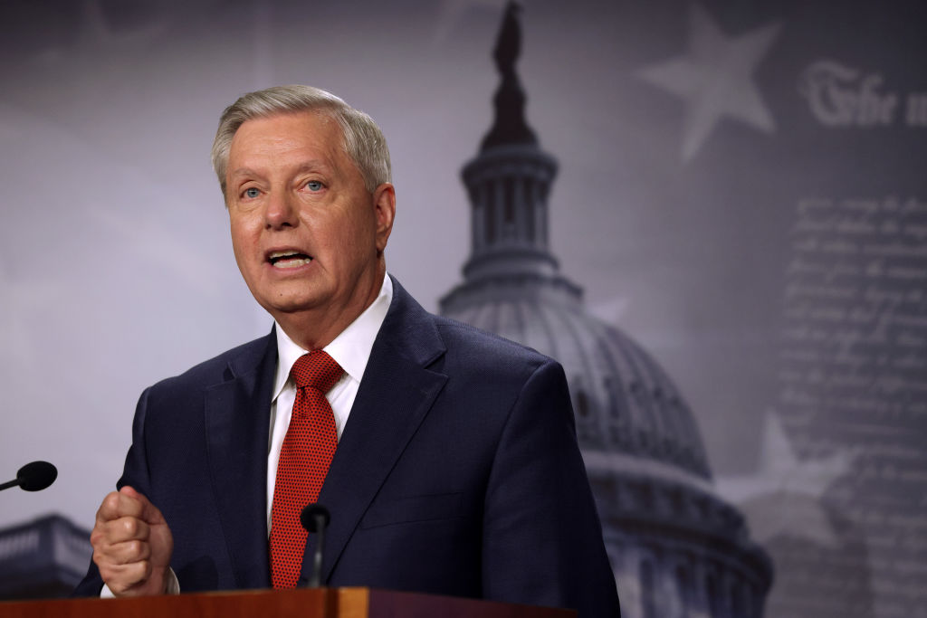 Lindsey Graham Says Biden Created 'Instability' Amid Afghanistan Withdrawal, Border Issue