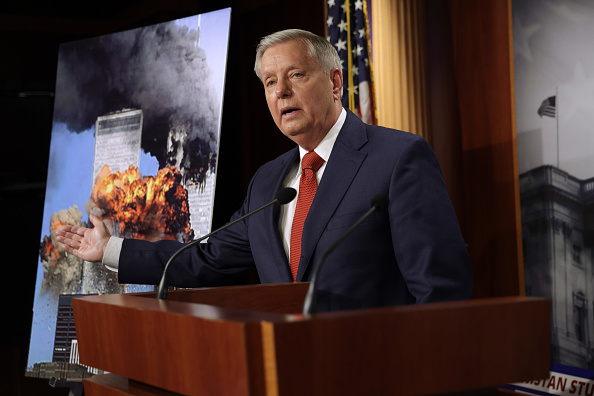 Lindsey Graham Disagrees With Trump Backing Biden on Pulling Troops From Afghanistan