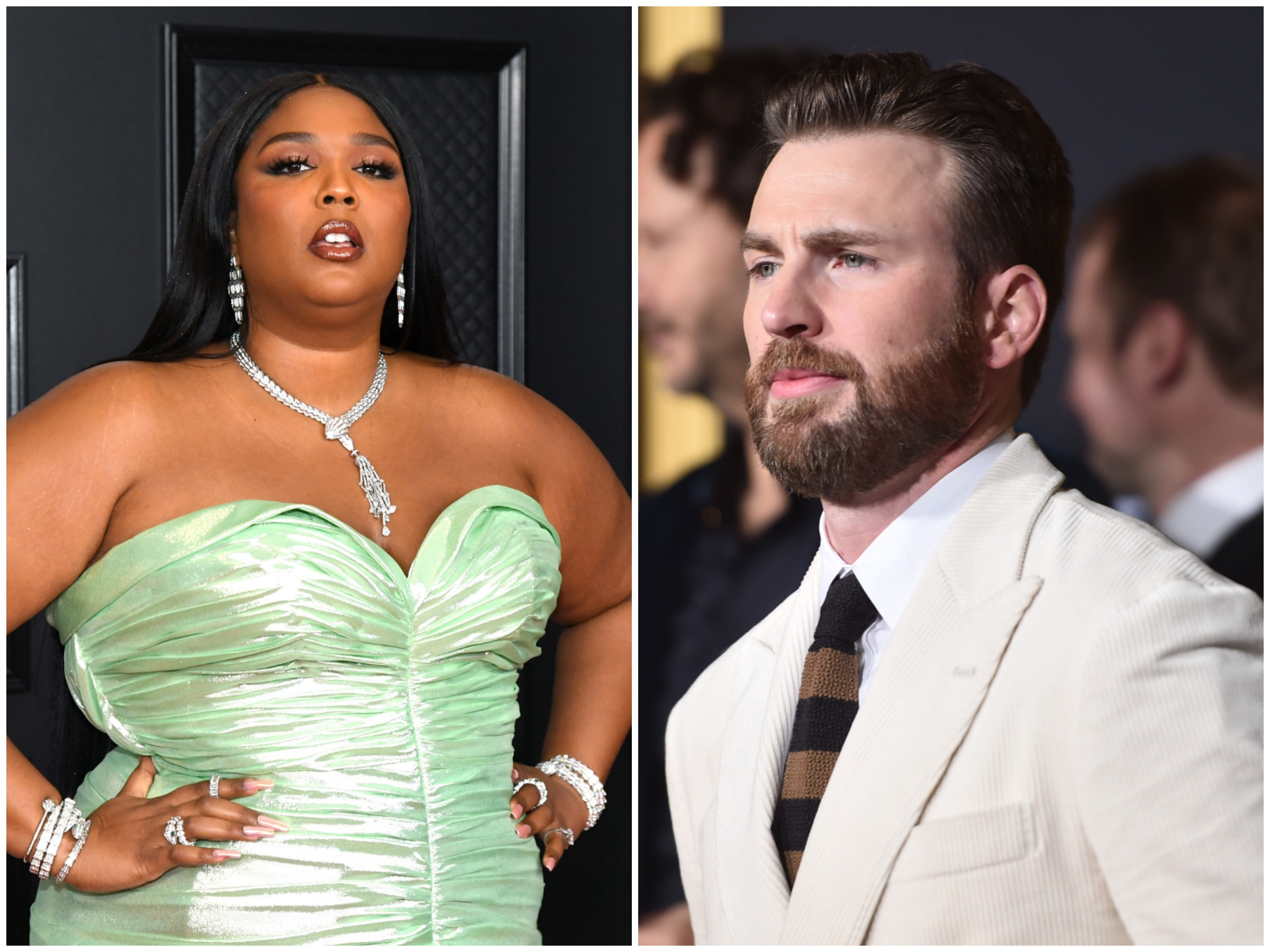 How Chris Evans Responded to Lizzo's Drunk DM