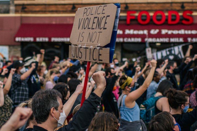 Protest in Minneapolis