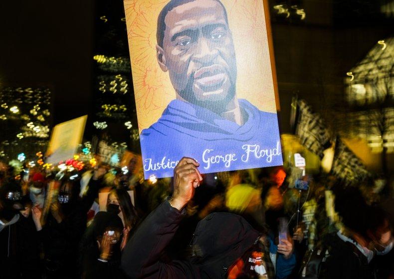 George Floyd protest Derek Chauvin trial 2021