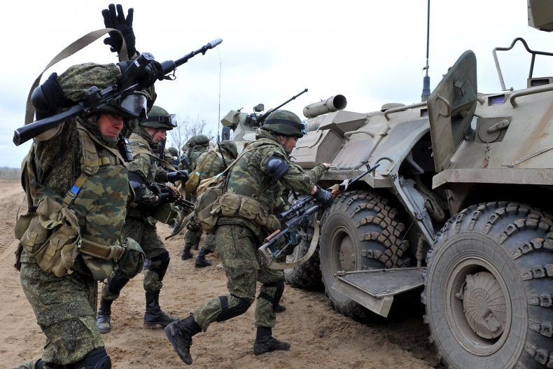 Russian Military Troops
