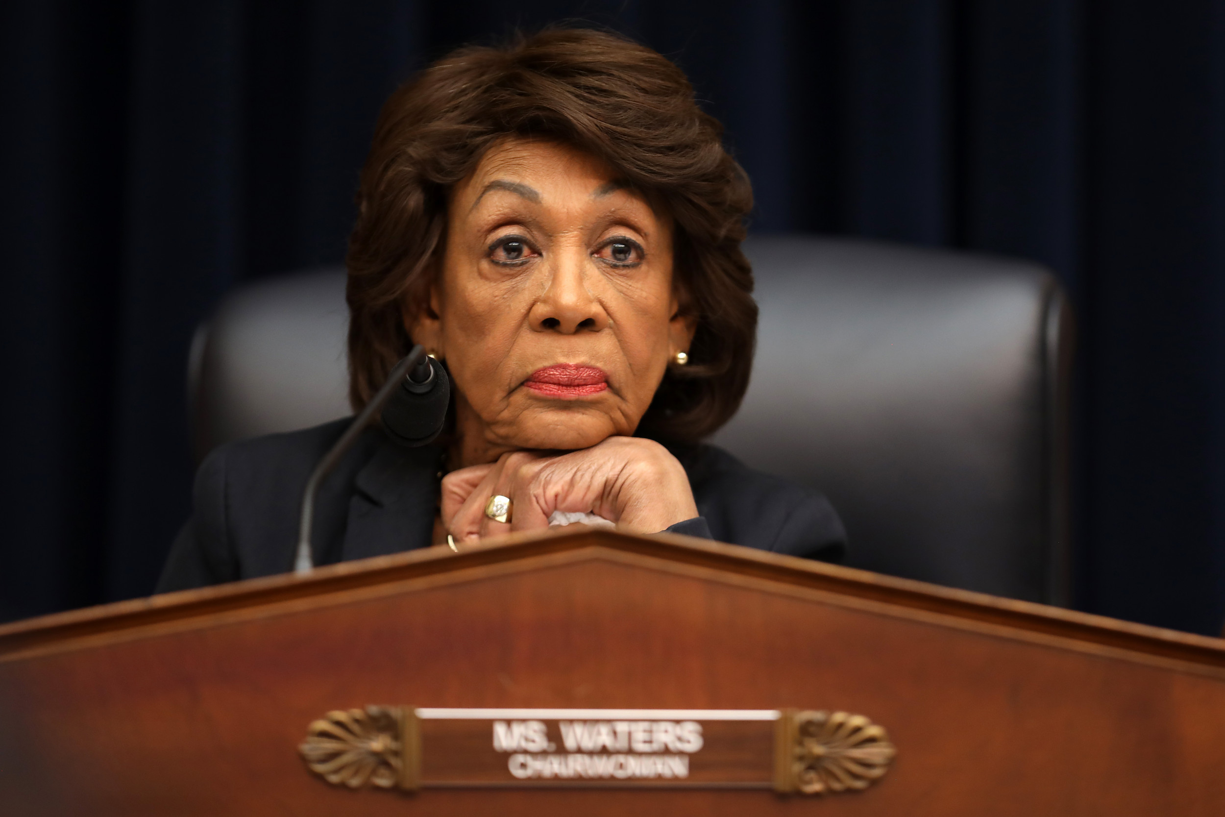 Waters Accuses GOP of Using Comments at Protest to Appeal to KKK
