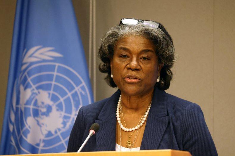 U.S. Ambassador to the UN Linda Thomas-Greenfield