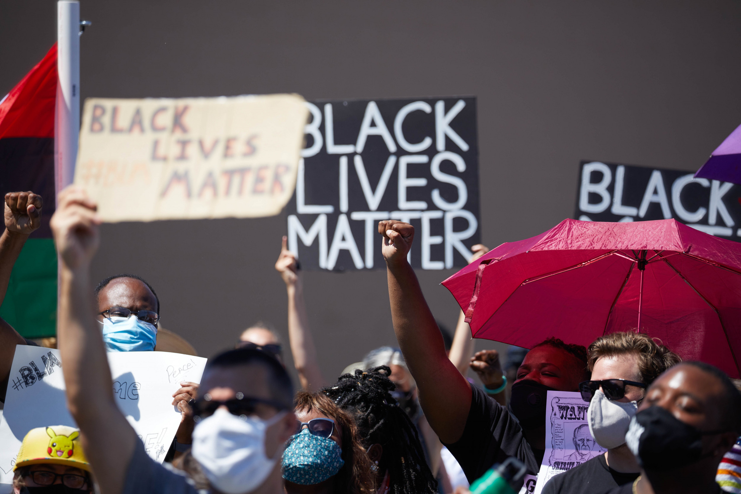 Sheriff Settles Lawsuit Against BLM Protesters Arrested for Cursing