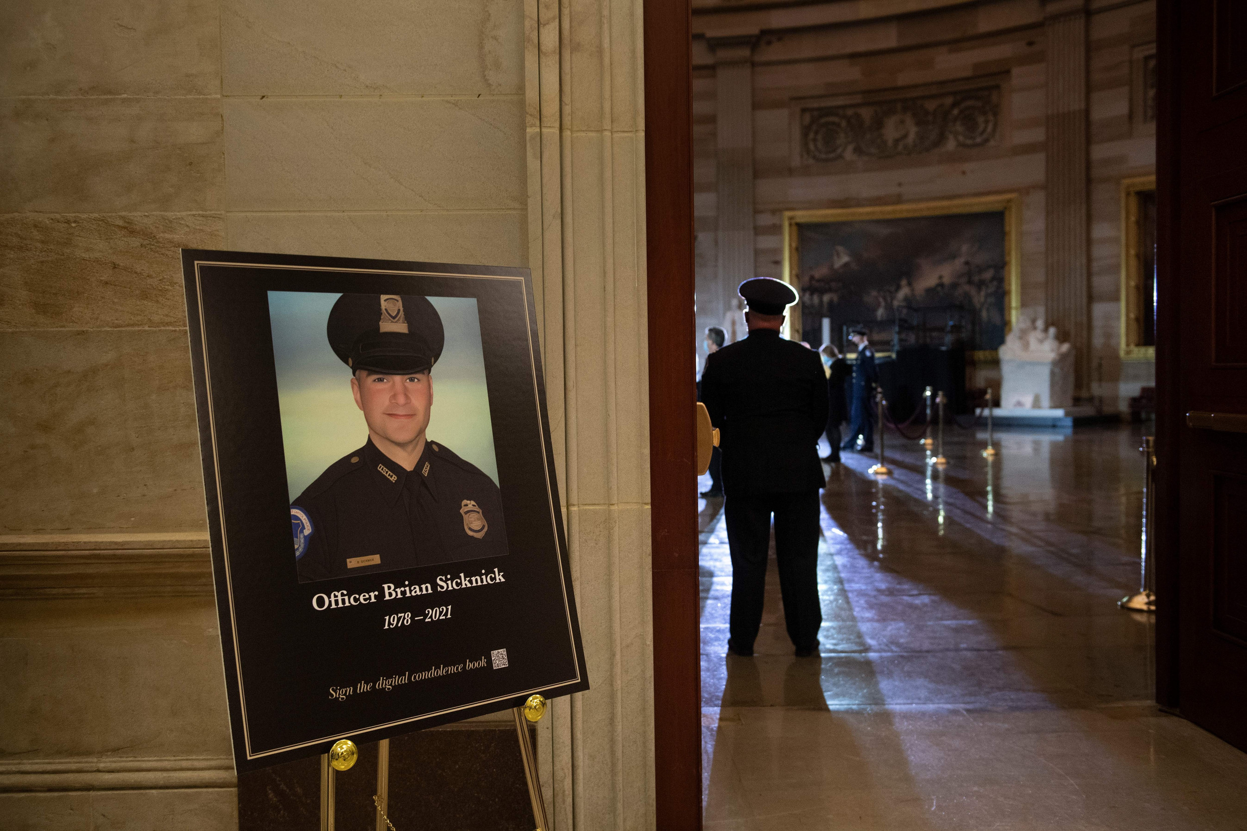 Officer Sicknick Died of Natural Causes at Capitol Riot: Medical Examiner