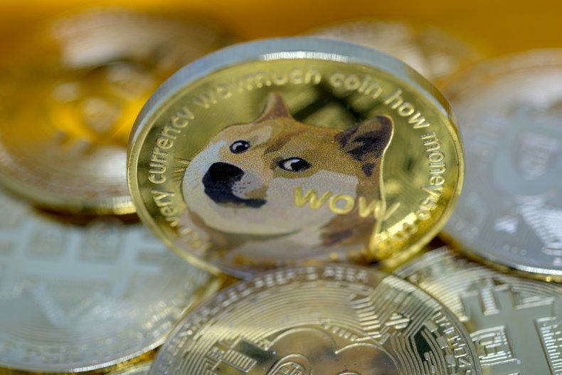 Visual representation of a Dogecoin