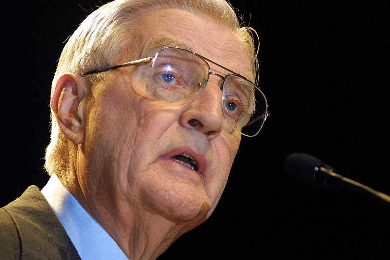 Mondale died in his sleep on Monday