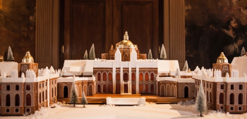 Baking, Baker, Gingerbread, Buildings, Architecture