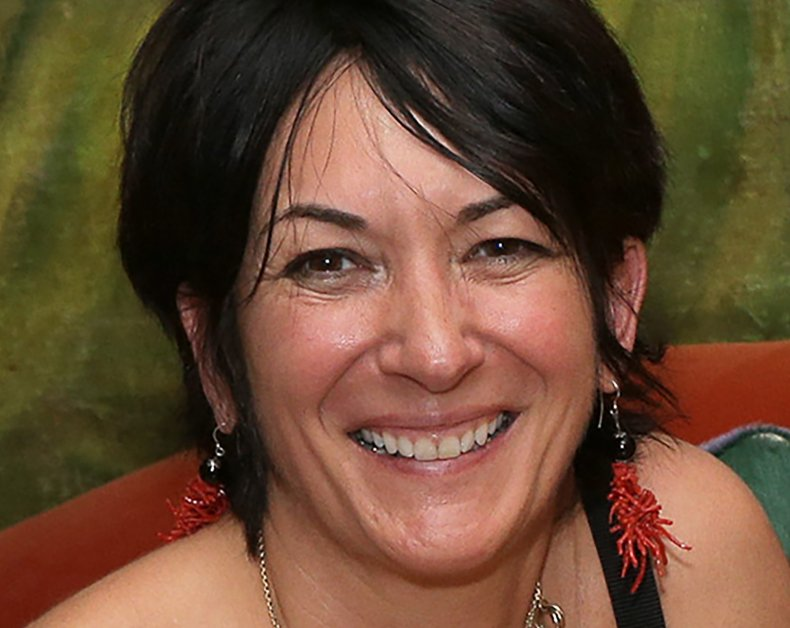 Ghislaine Maxwell at Home in New York