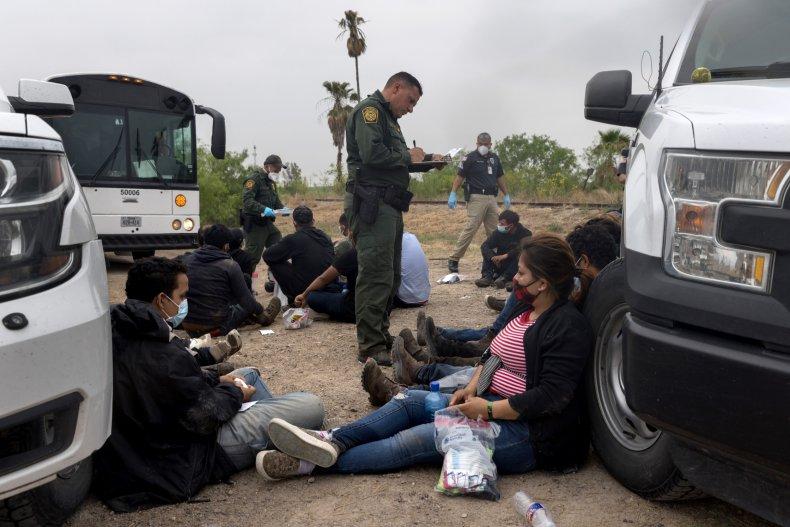 Border Patrol agents discover 149 migrants trailer