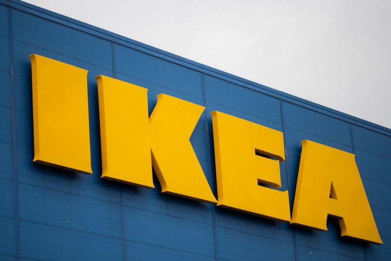 Logo of a Scandivanian furniture store Ikea