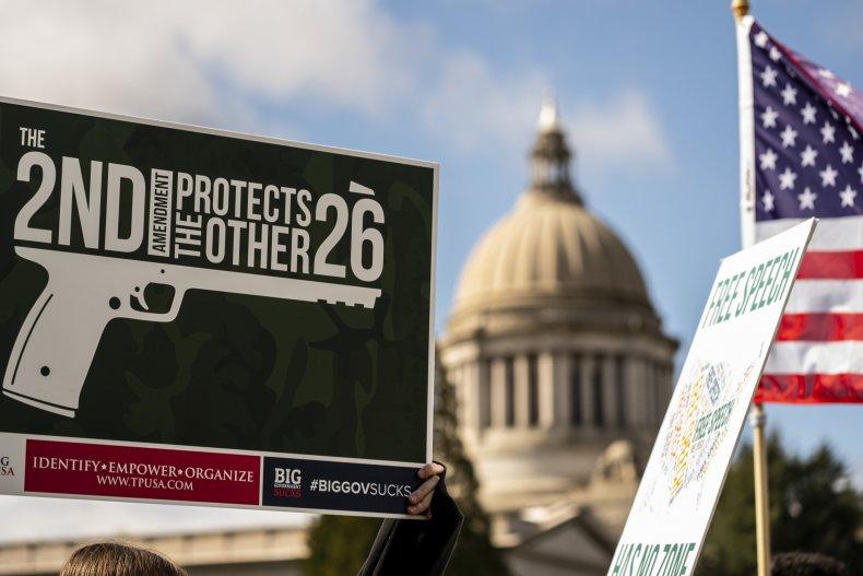 2nd amendment gun rights rally 2021