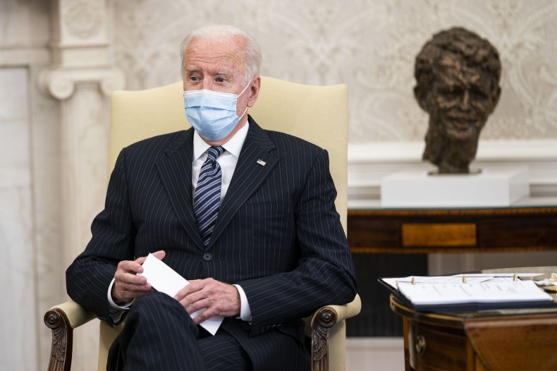 Joe Biden calls Floyd family