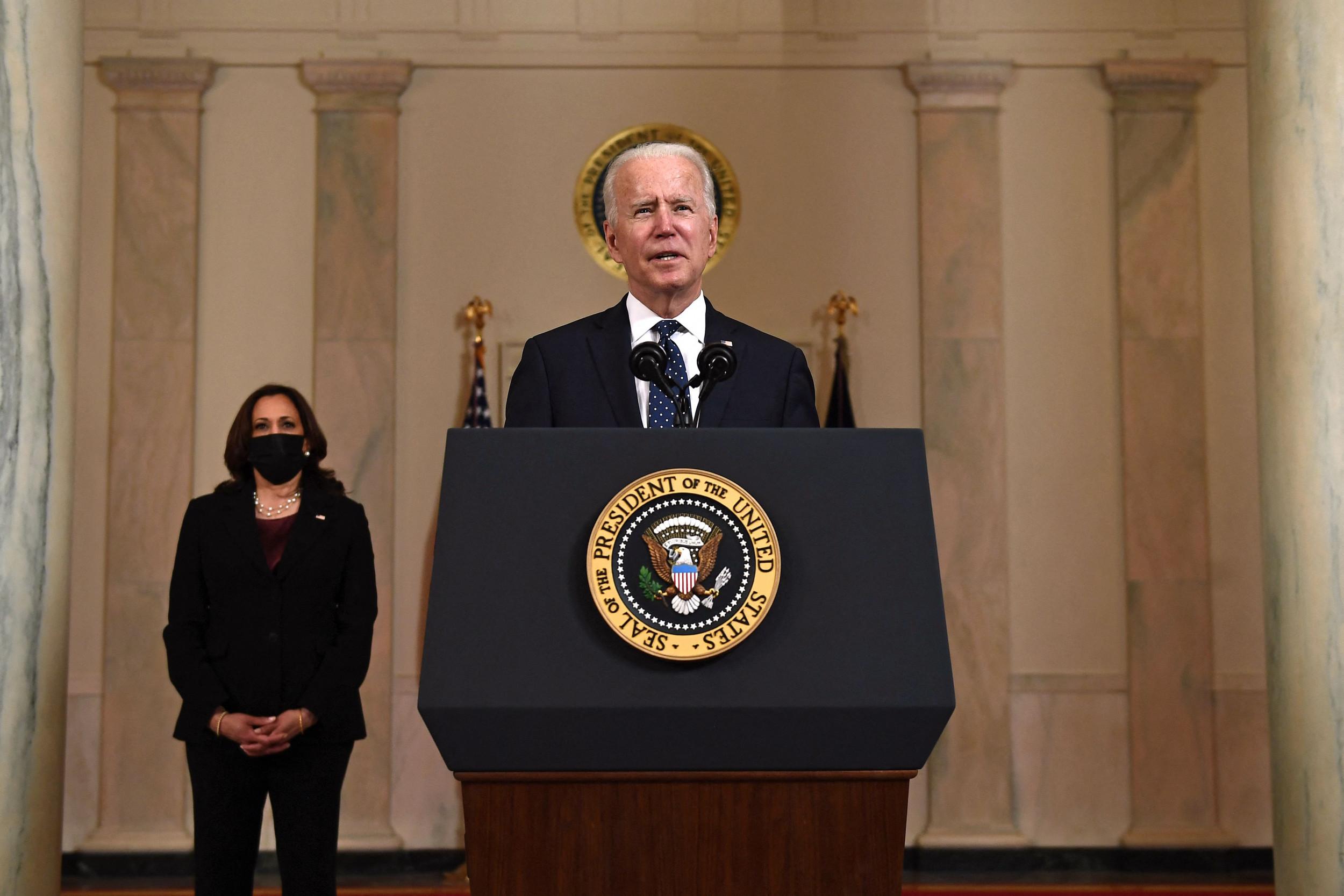 Joe Biden Says Derek Chauvin Verdict Can Prompt 'Moment of Significant Change' for U.S.