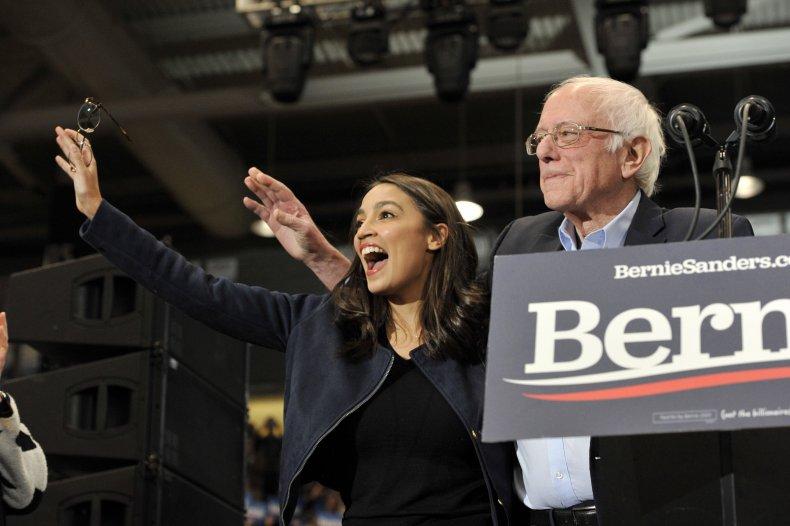 Bernie Sanders AOC 2024 Presidential Poll Iowa