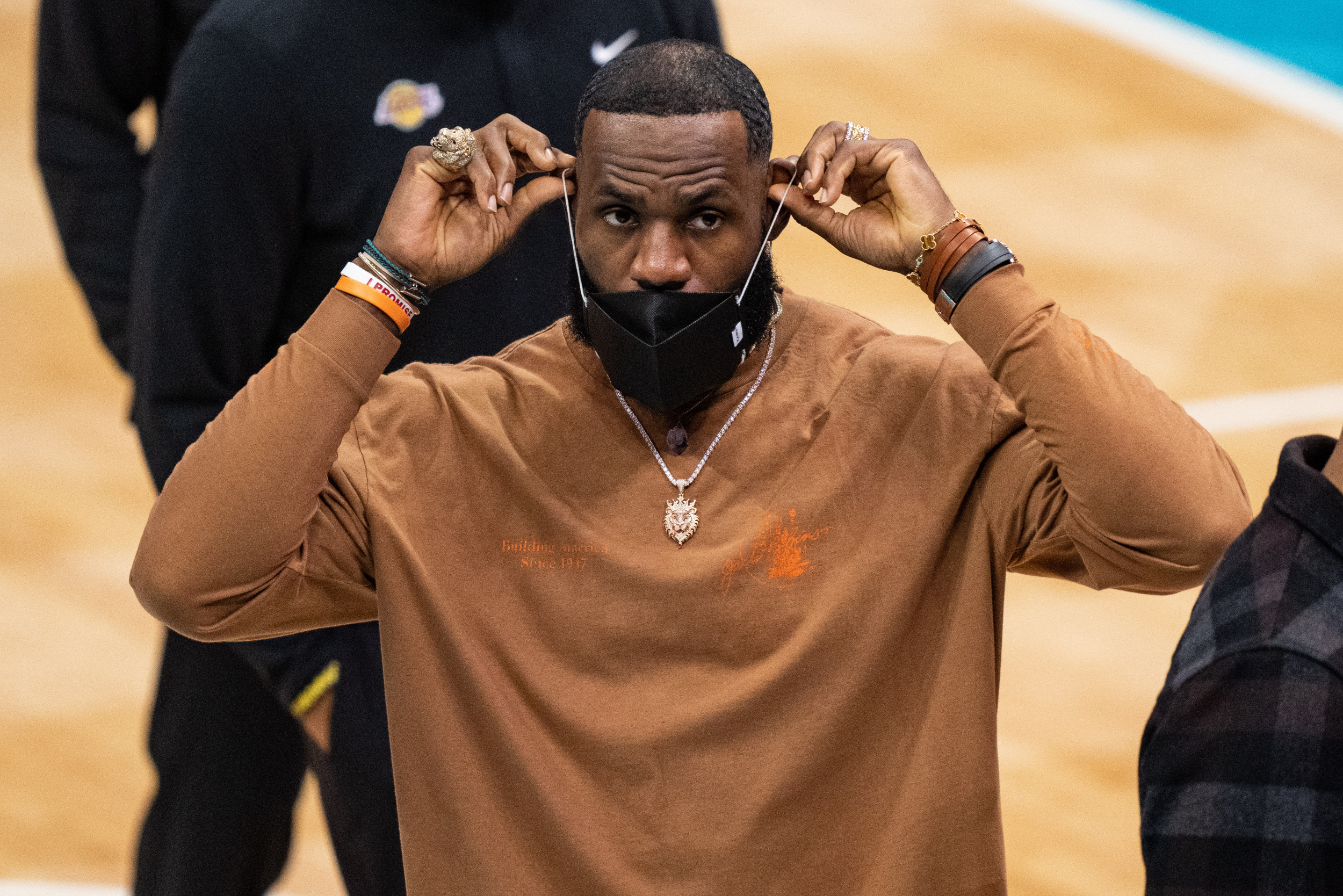 LeBron James Aghast at Las Vegas Raiders 'I Can Breathe' Remark: 'The F***'