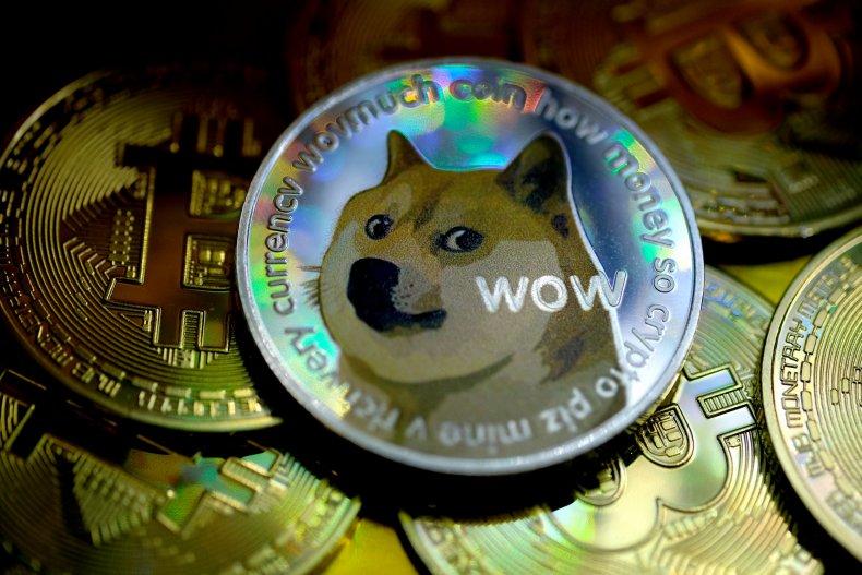 Dogecoin and bitcoin