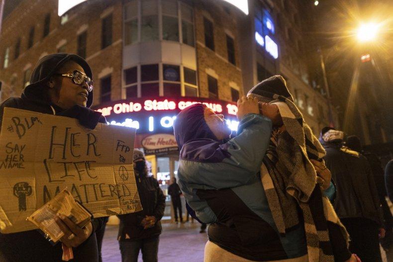 Columbus protest for Ma'Khia Bryant