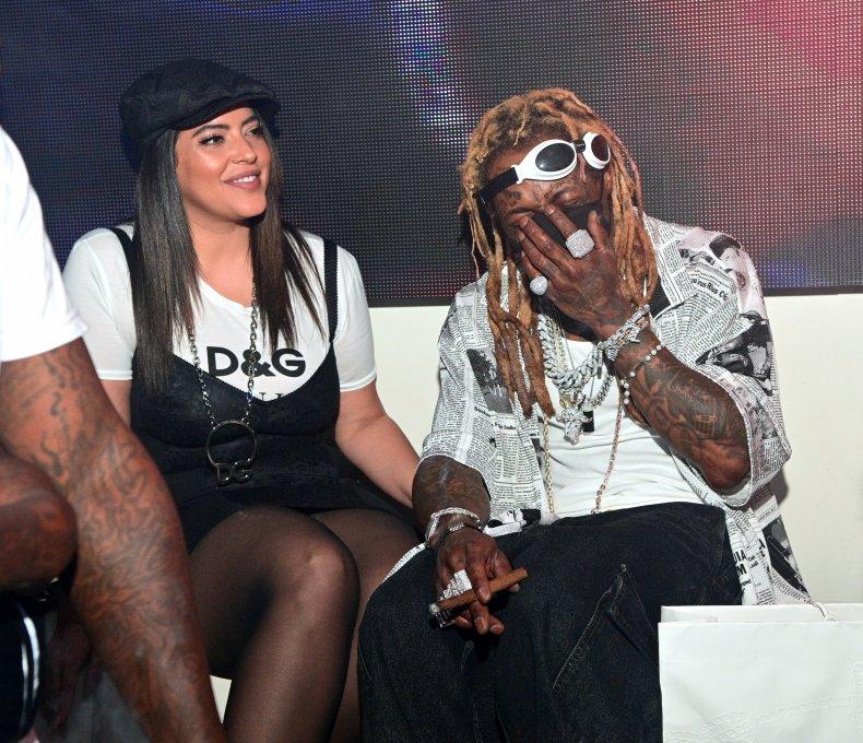 Denise Bidot and Lil Wayne