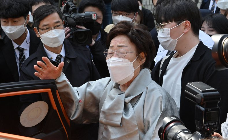 South Korean comfort woman lawsuit April 2021