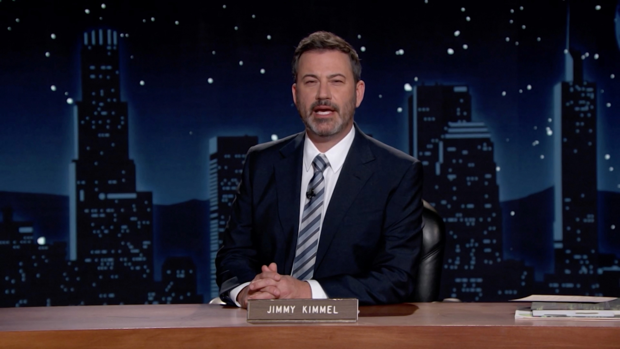 Jimmy Kimmel Roasts Mike Lindell's Frank Site Launch Amid 48-hour Stream