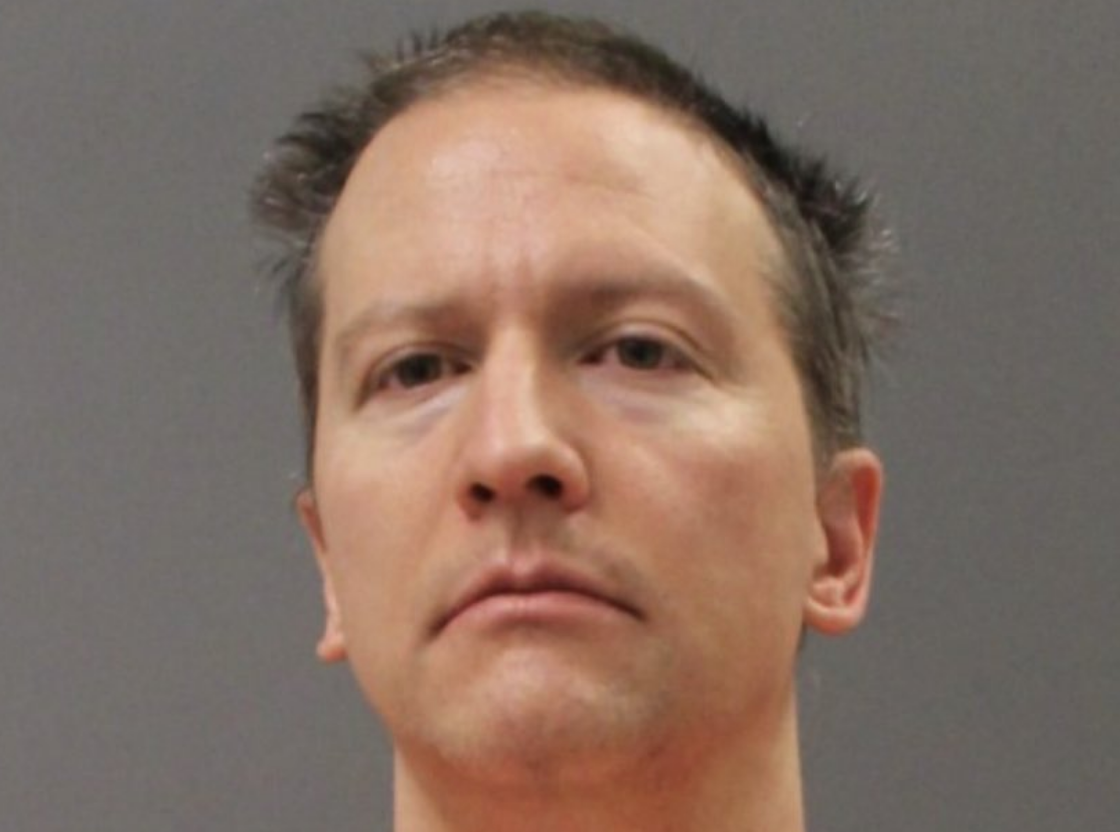 Derek Chauvin Booking Photo Shows Ex-Cop in Prison