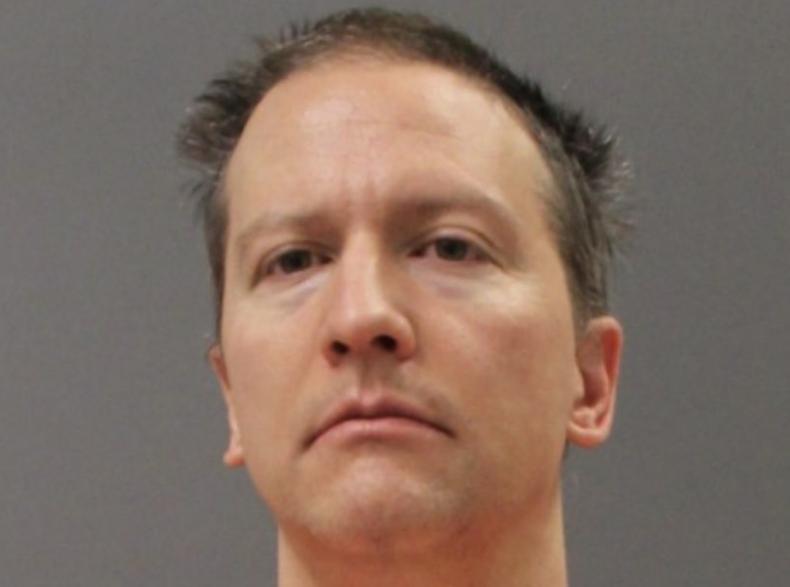 Derek Chauvin booking photo prison