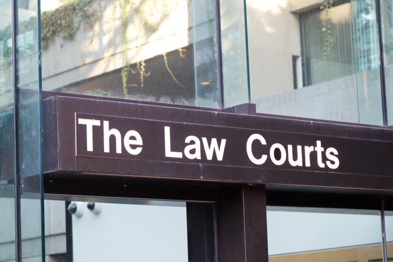 The Law Courts in Vancouver