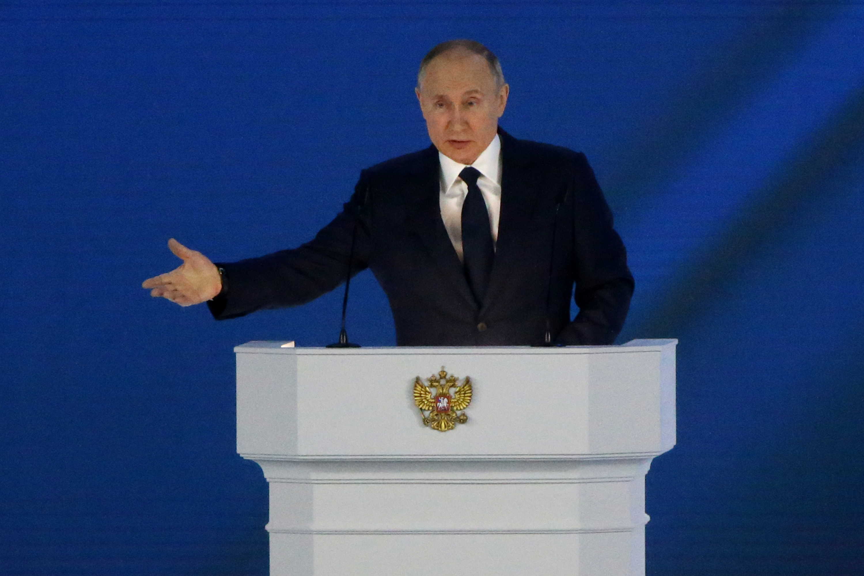 Putin Criticizes Foreign Nations' 'Politically Motivated' Sanctions