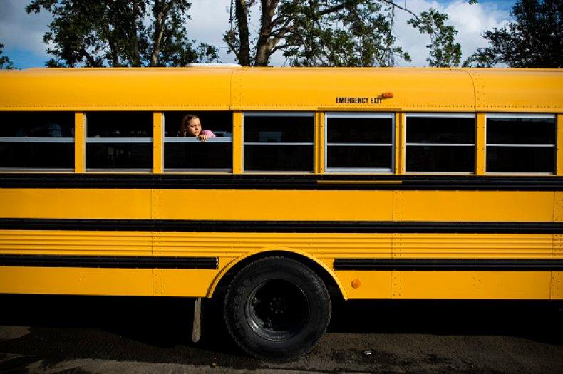 St Bernard Parish School Bus