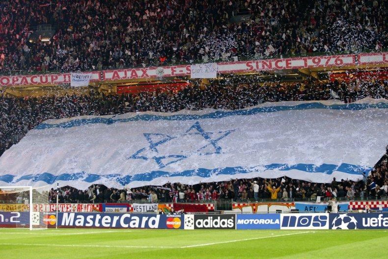 ajax antisemitis hamas jews on gas