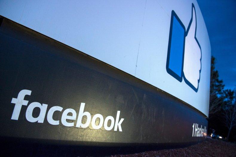 Facebook Logo Building