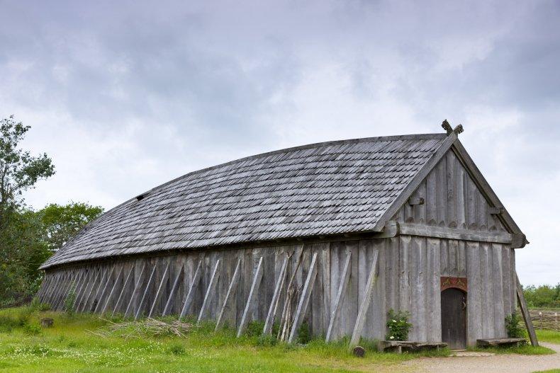 viking longhouse in denmark