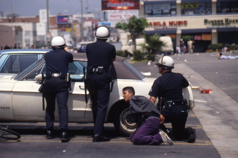 Rodney King 3 Cops Custody
