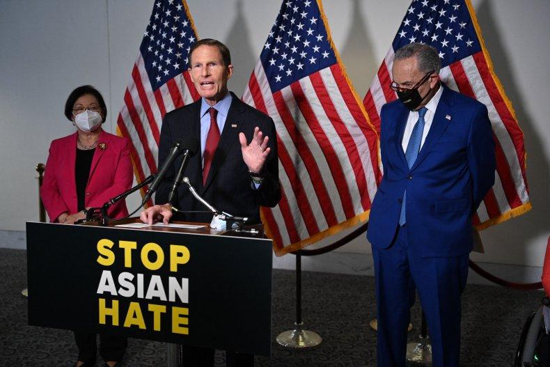 Senators Mazie Hirono (D-HI), Richard Blumenthal (D-CT)