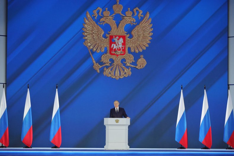 VLadimir Putin gives state of the nation