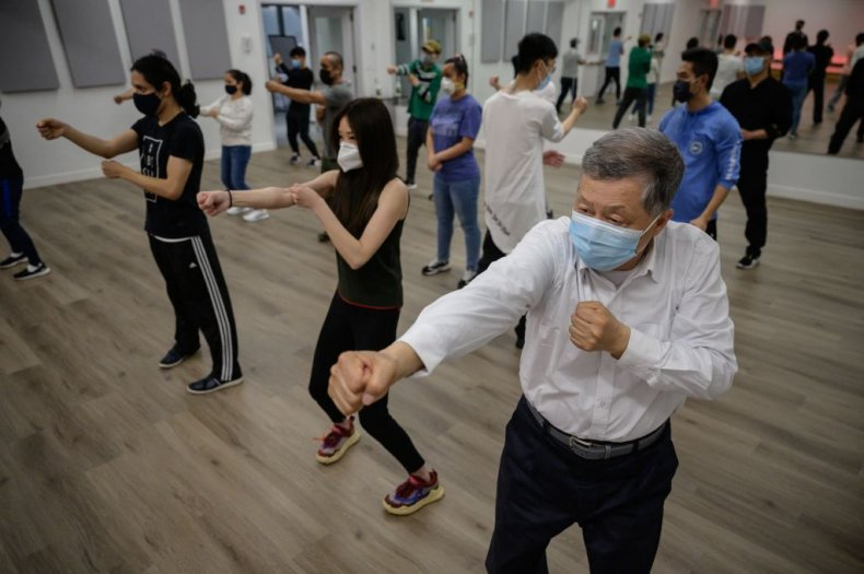 Asian Americans in NY Attend Self Defense