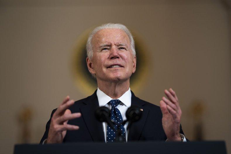 President Biden Speaking at the White House