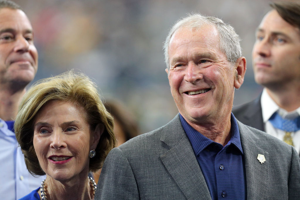 George W. Bush Says He Probably Wouldn't Golf at a Trump Property
