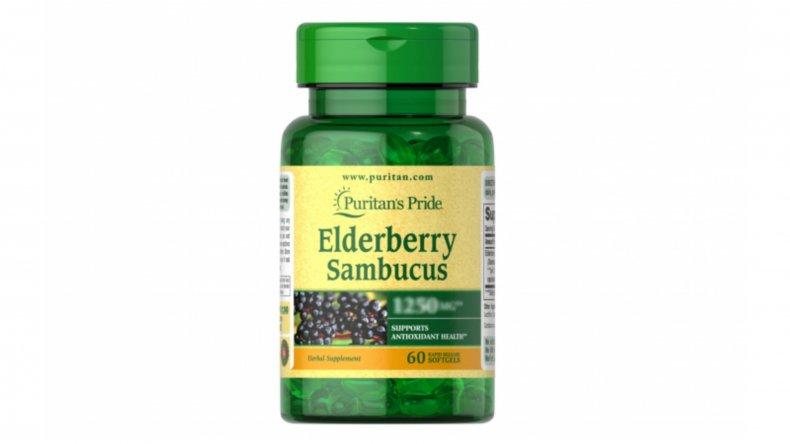 Puritan's Pride Elderberry Sambucus