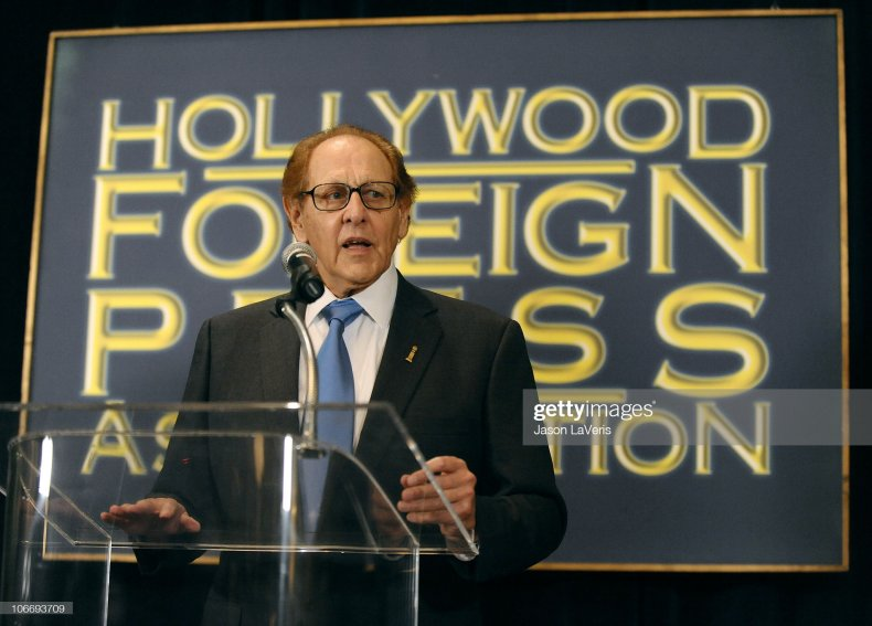 Hollywood Foreign Press Association president Philip Berk