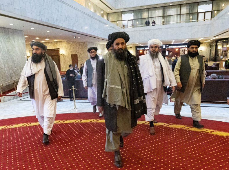 Members of the Taliban Delegation