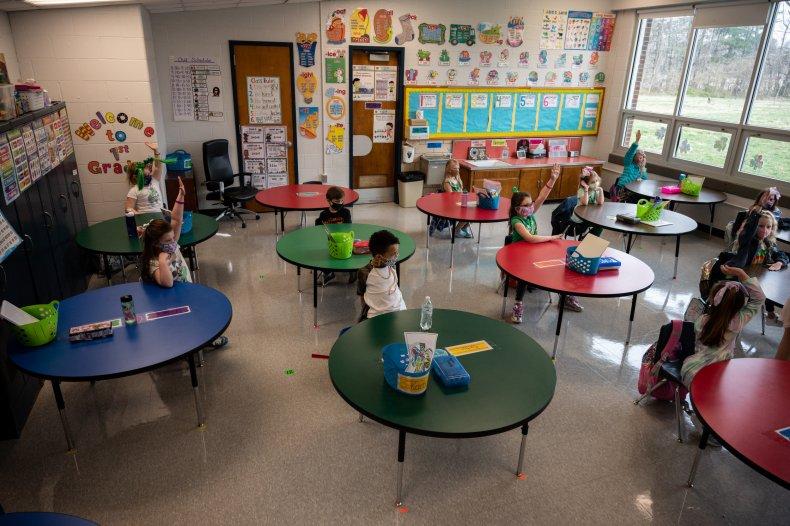 Schools open in-person learning