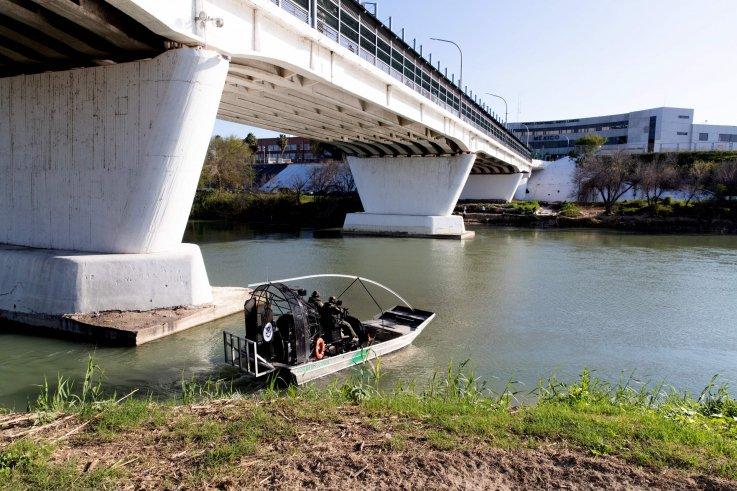 Border Patrol in Laredo, Texas