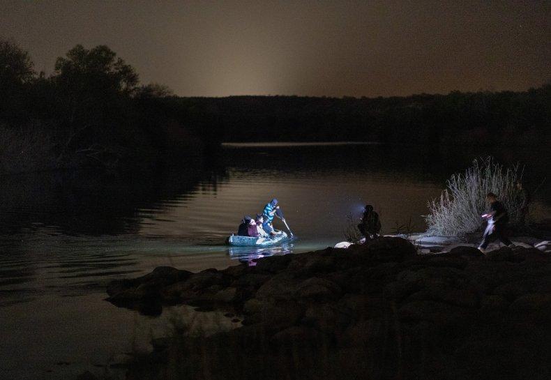 Rio Grande human smuggling