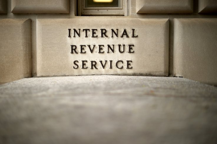 IRS building in Washington, D.C. 2020
