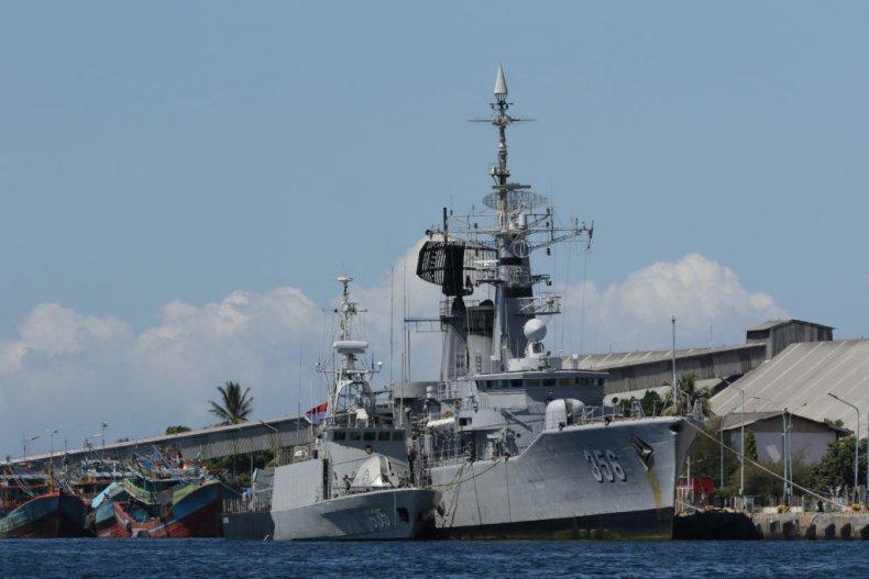 Indonesian navy ships