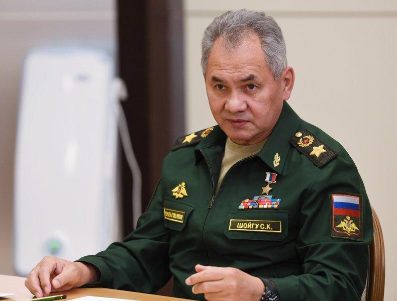 Russian Defence Minister Sergey Shoigu i