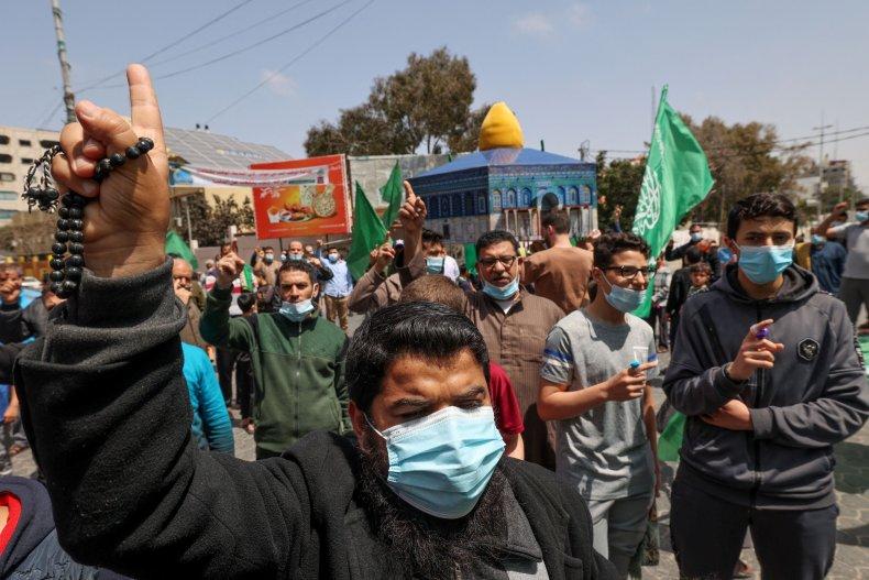 Palestine Jerusalem Protest